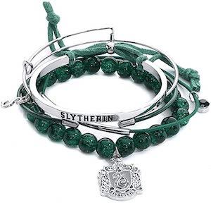 Hogwarts Packing List - Slytherin Bracelets