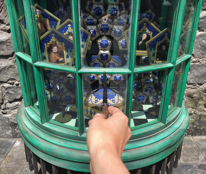 Harry Potter World Hollywood - Chocolate Frog Window