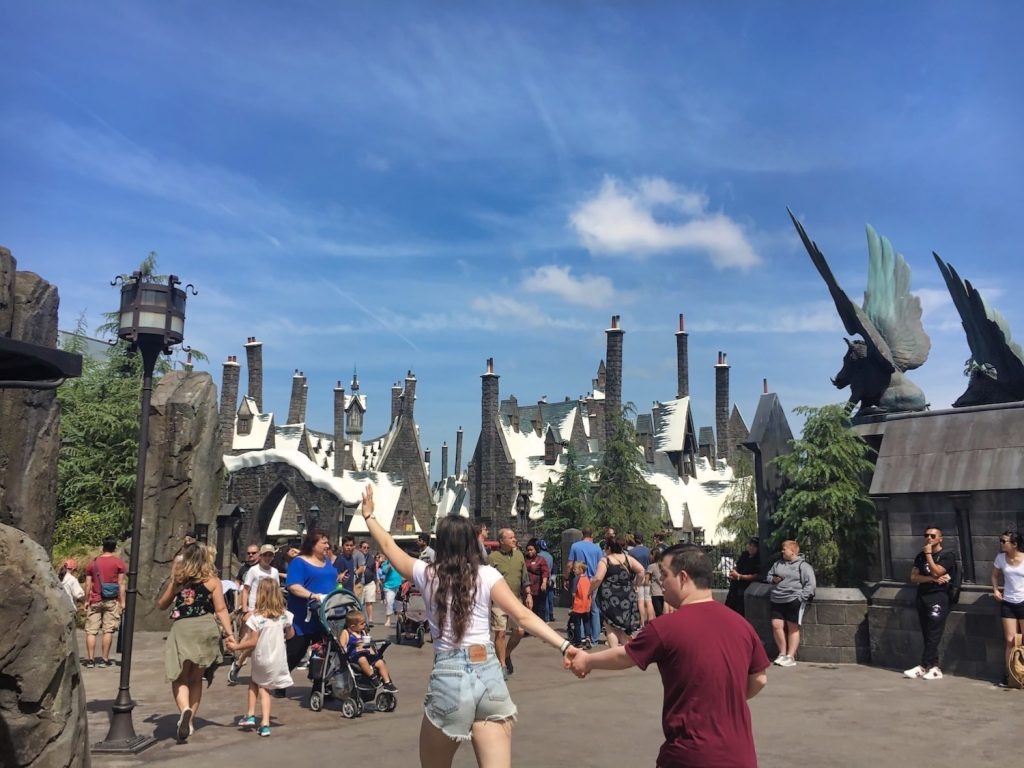 Harry Potter World Hollywood - Crowds