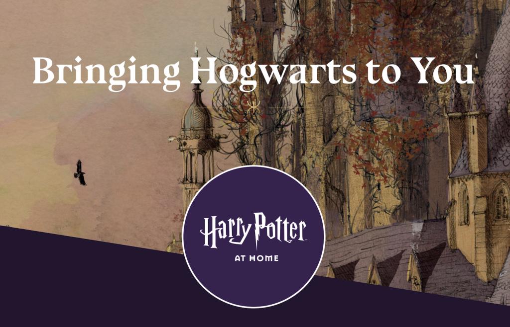 Harry Potter at Home Splash Screen