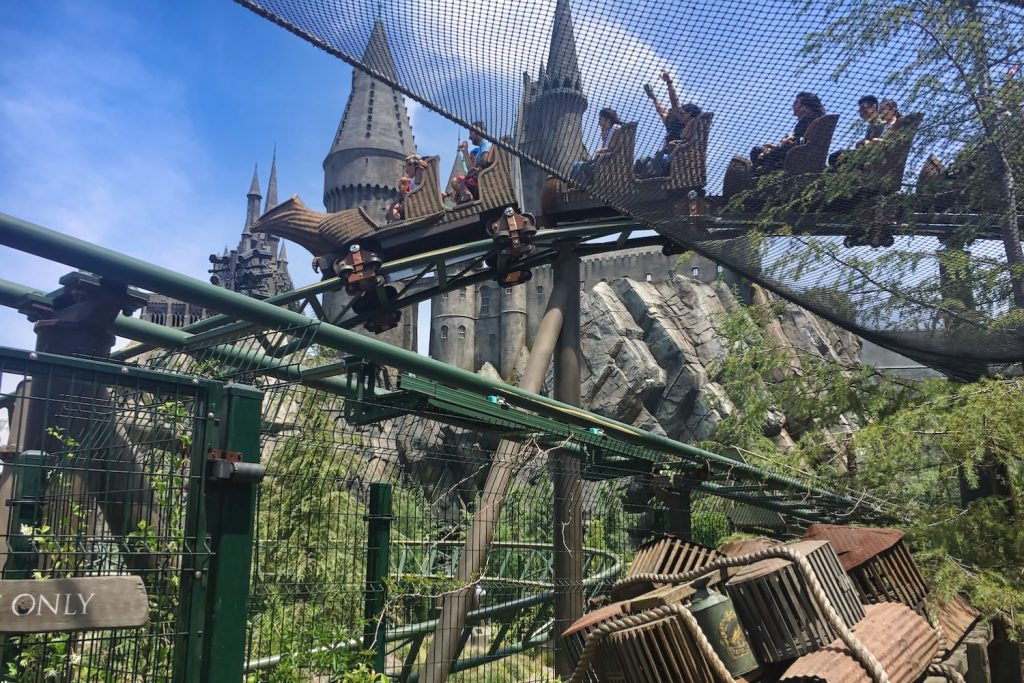 Virual Visit to Wizarding World - Flight of the Hippogriff