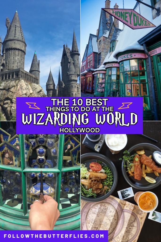 Wizarding World Hollywood Pin