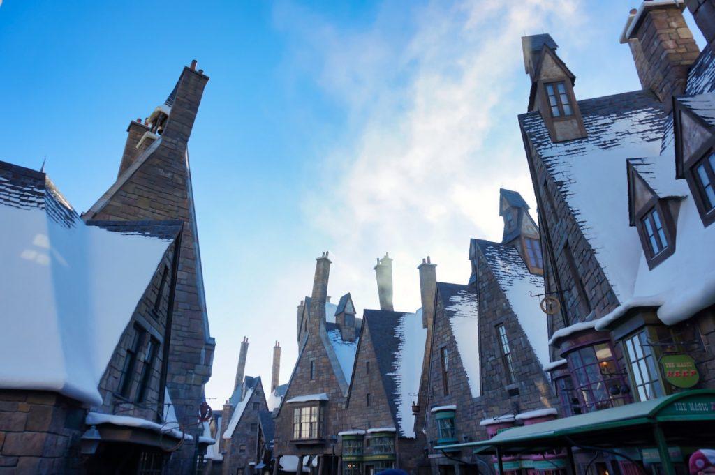 Wizarding World Virtual Visit - Hogsmeade Rooftops