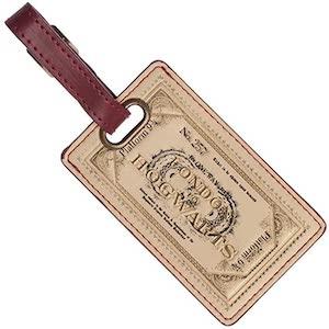 Hogwarts Express Ticket Luggage Tag