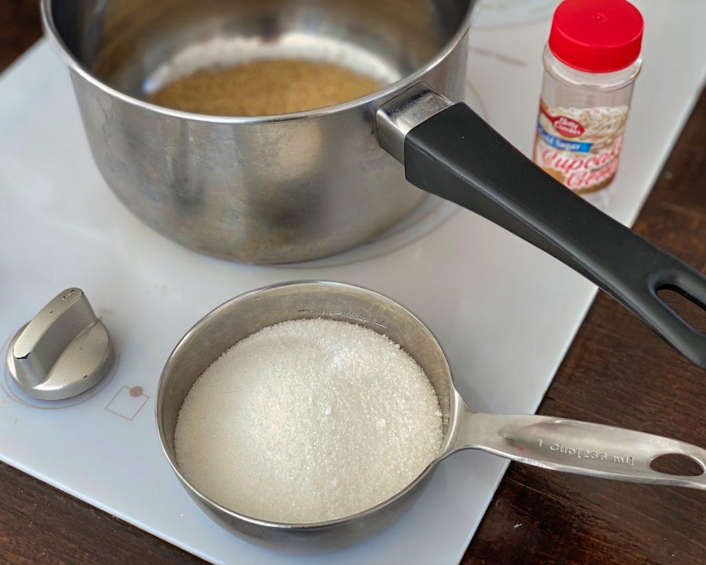 Making Felix Felicis - Add sugar