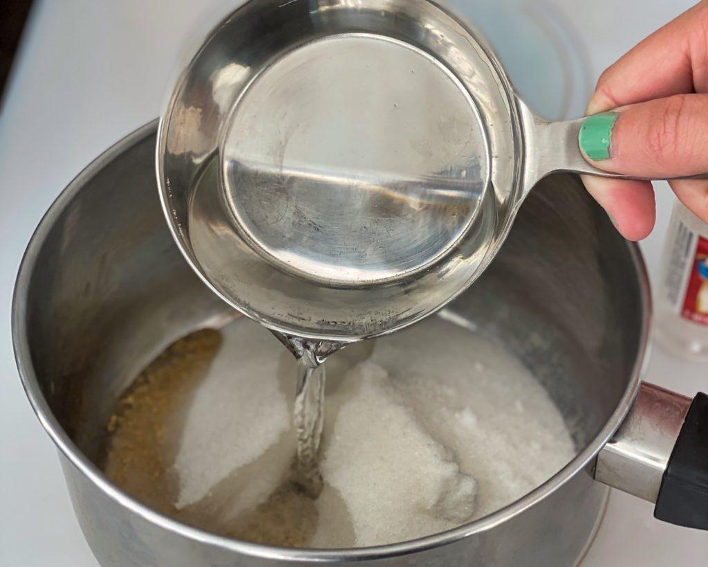 Making Felix Felicis - Add water