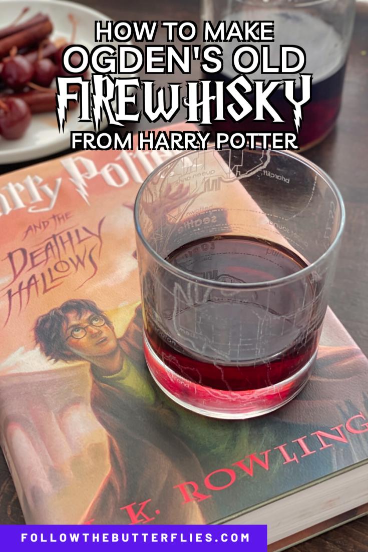 Ogden's Old Firewhisky Pin