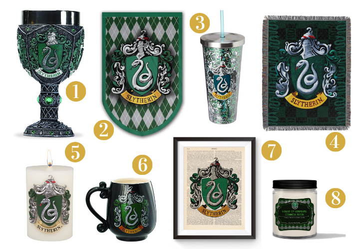 Slytherin Gift Guide - Housewares