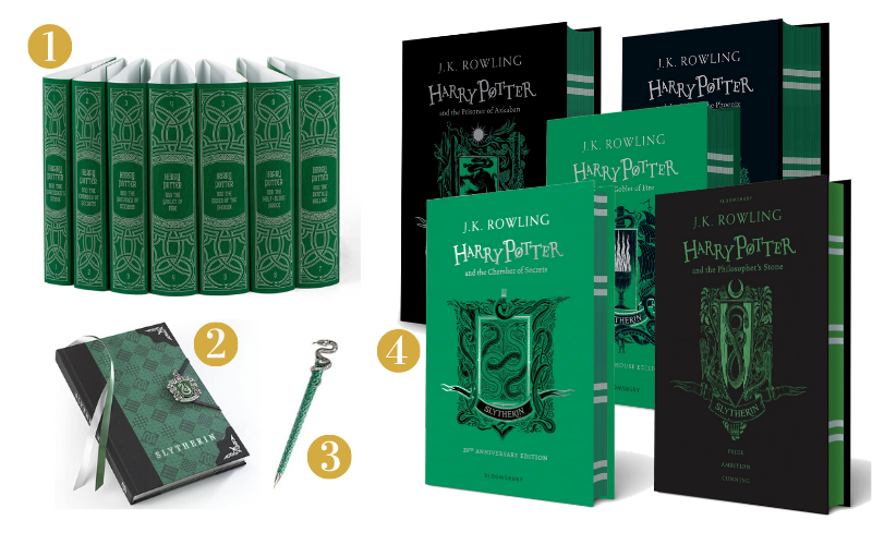 Slytherin Gift Guide - Books