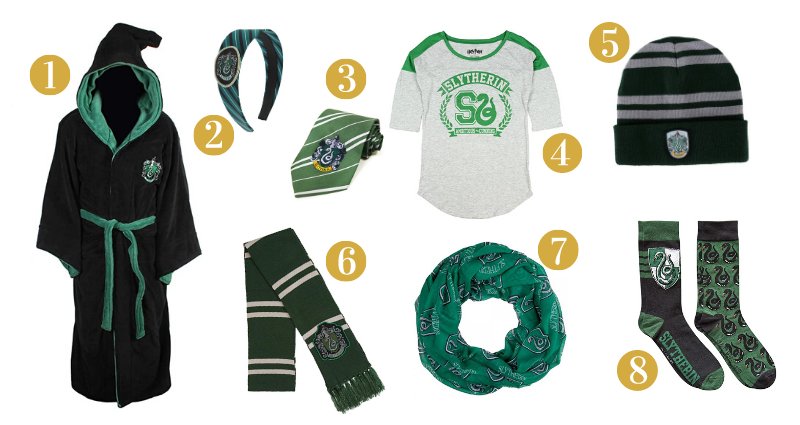 Slytherin Gift Guide - Clothes
