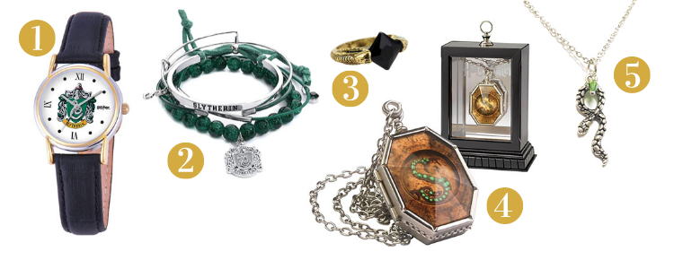 Slytherin Gift Guide - Jewelry