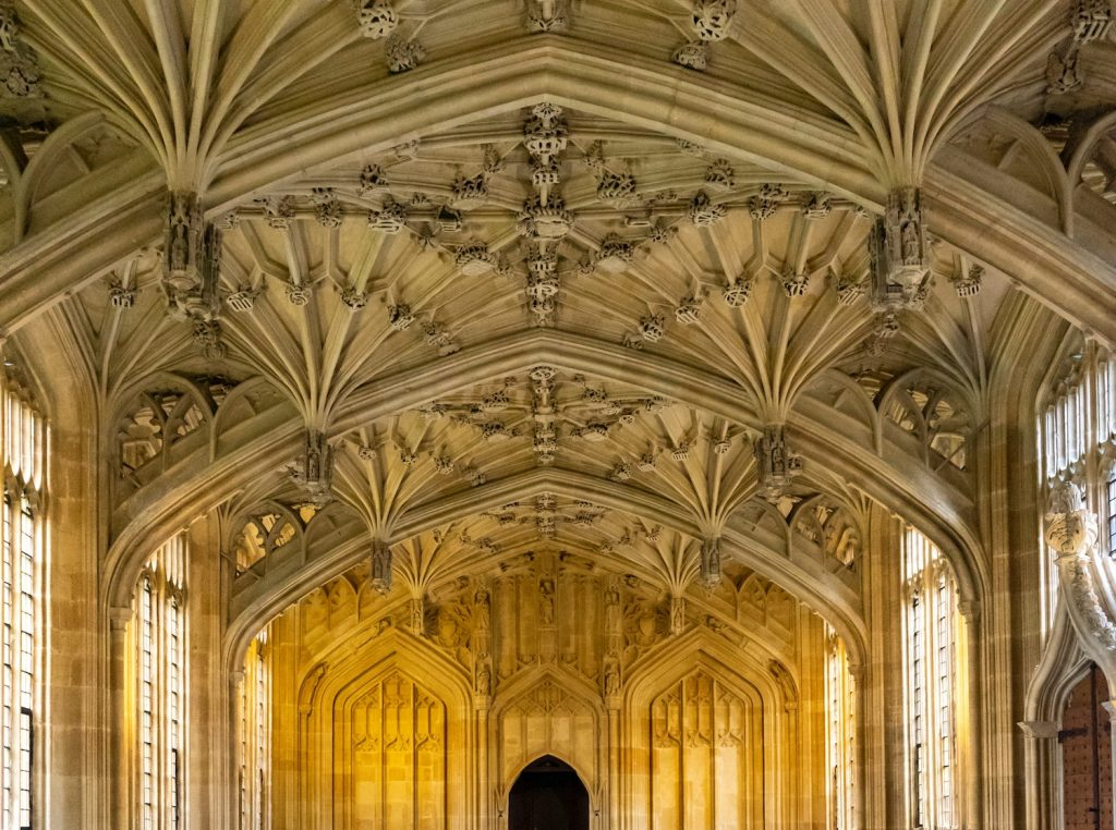 Harry Potter Oxford Locations - Bodleian Library Divinity School