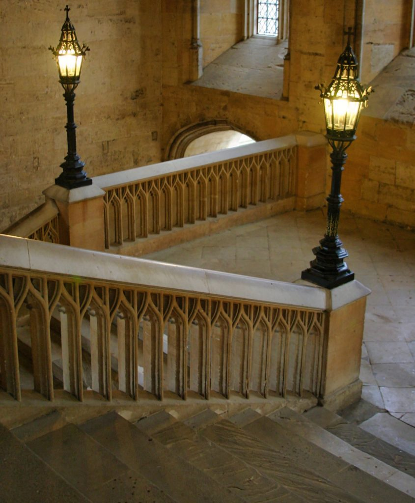Bodley Tower Stairs - Jeff Kramer via Flickr