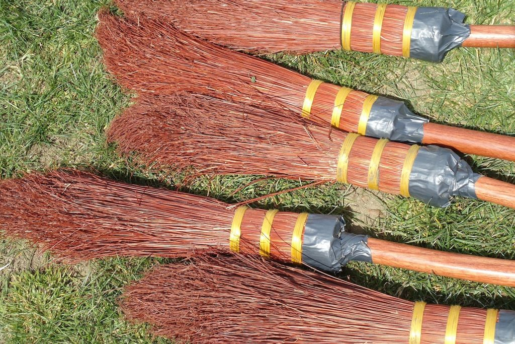 Harry Potter 11th Birthday Party - Quidditch Broomsticks