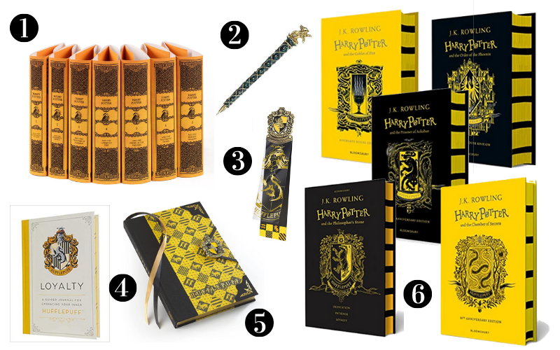 Hufflepuff Gift Guide - Library