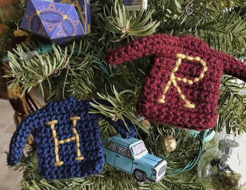 Harry Potter Ornaments - Christmas Sweaters