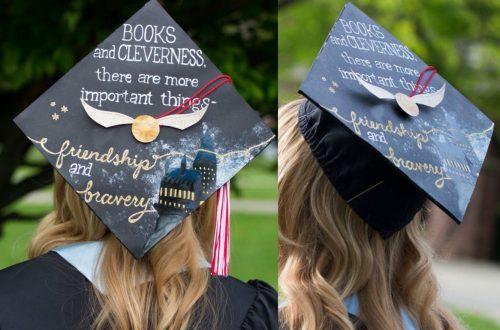 Harry Potter Graduation hero