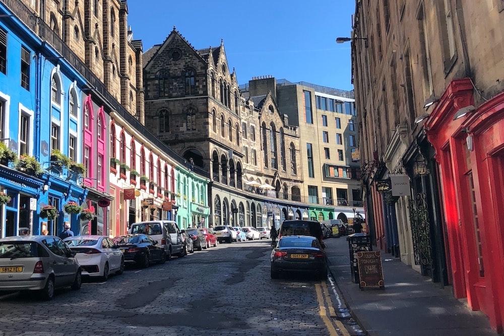 Harry Potter in Edinburgh - Victoria Street