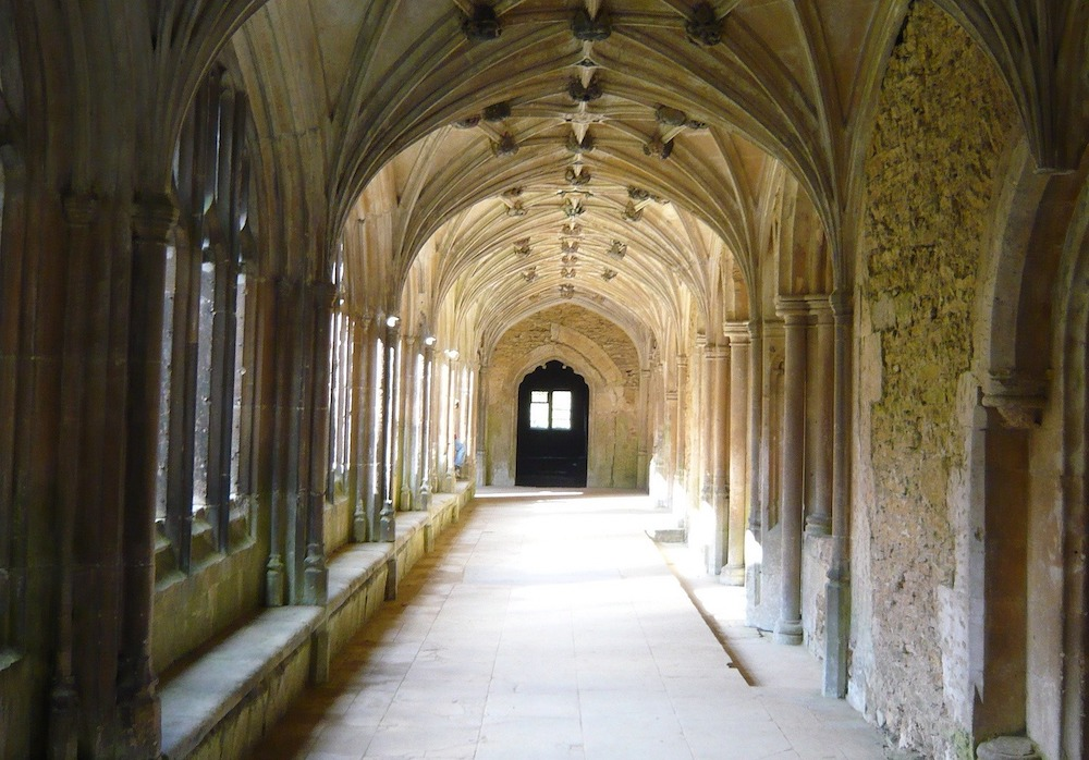 Harry Potter Global Locations - Lacock Abbey