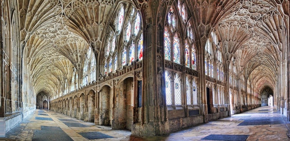 Harry Potter Locations Around the World - Gloucester Cathedral