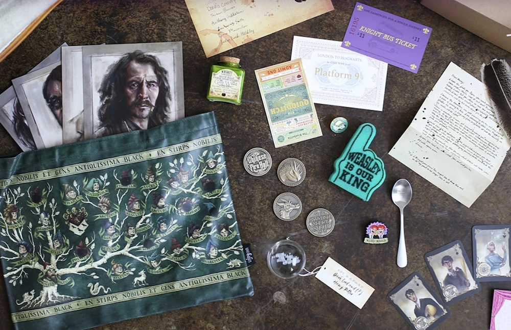 Harry Potter Subscription Boxes - Magical Subscription from Litjoy