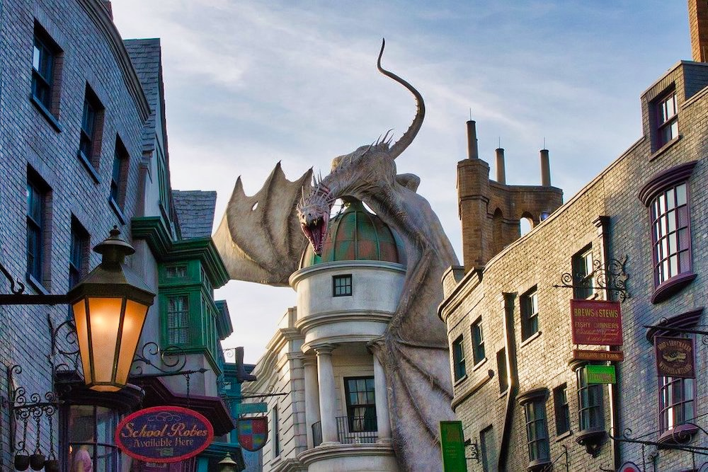 One Day at the Wizarding World Hero